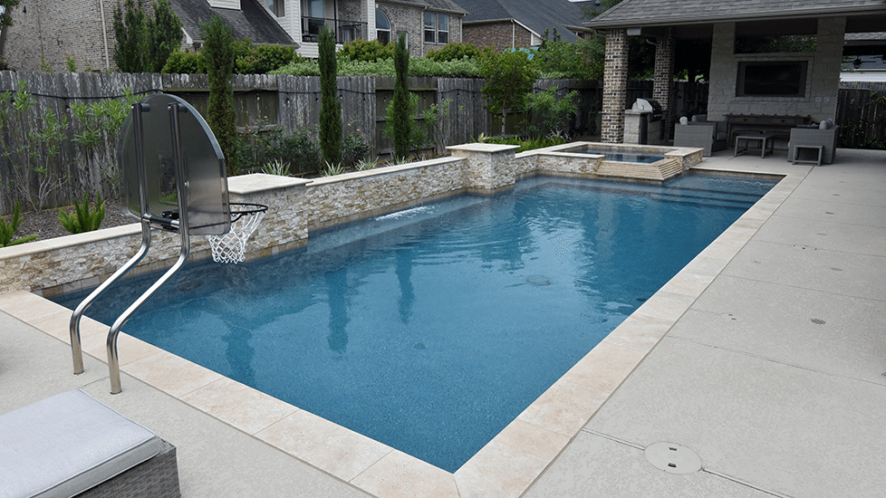Geometric pools my blog for Pool design katy