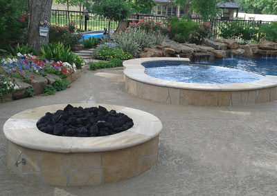 FIREPIT-AND-INDIGO-BLUE-PRISM-MATRIX-SPA