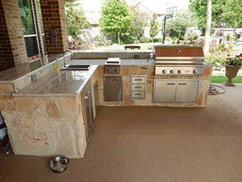 outdoor kitchens houston