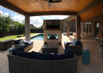 Pool patios and more