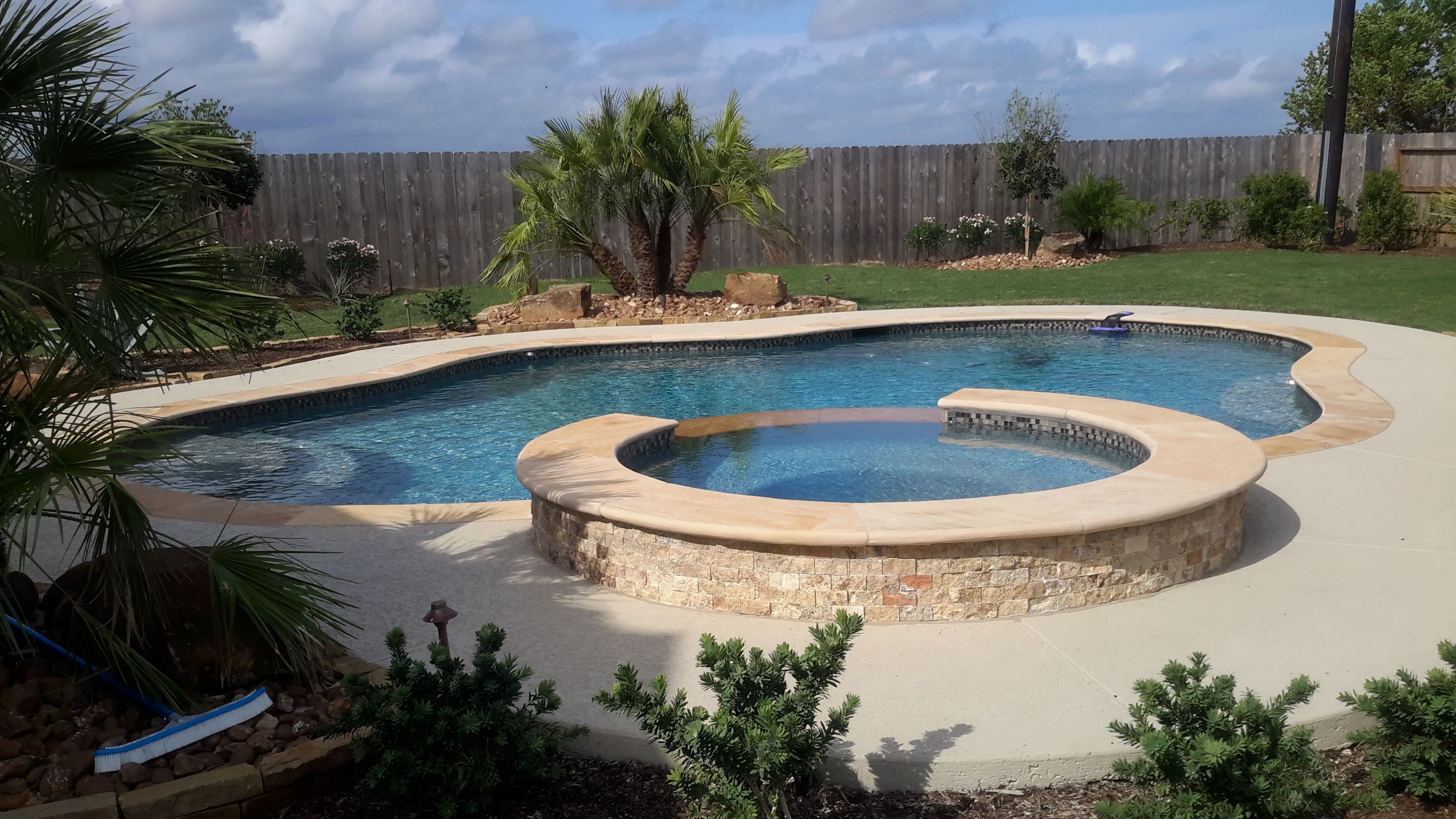 Standard pool package houston