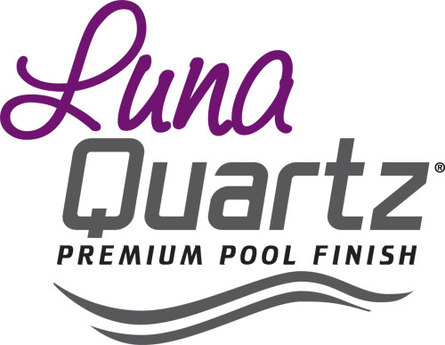 Luna Quartz Premium pool finish