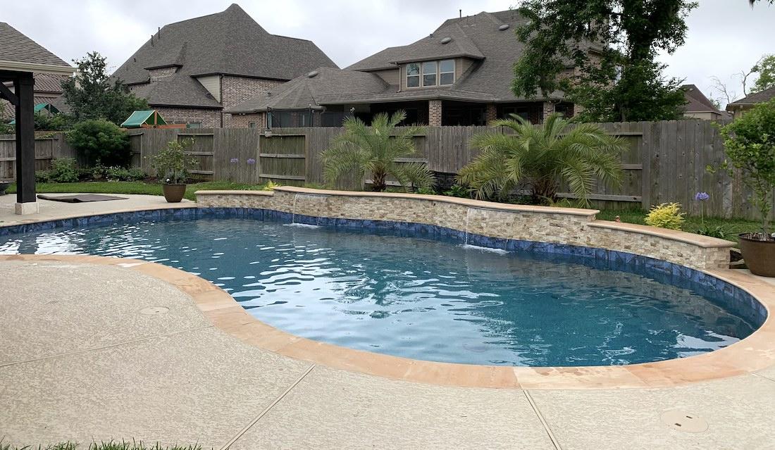 Free Form Pool Designs Houston Dfw Katy Tx Pools Plus